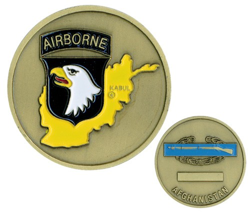 101st Airborne Afghanistan Challenge Coin