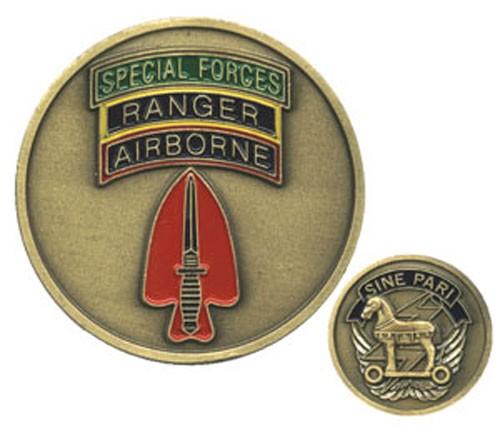 Spec. Forces Airborne Ranger Challenge Coin
