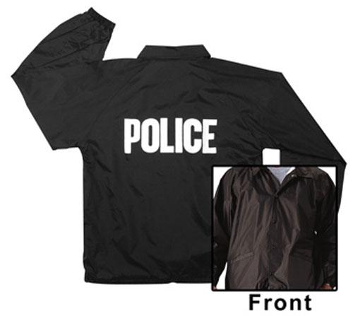 Police Black Raid Jacket
