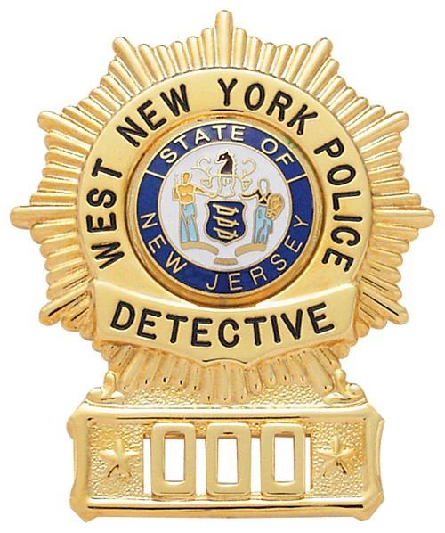 2.7 inch Sunburst Smith & Warren Badge S152