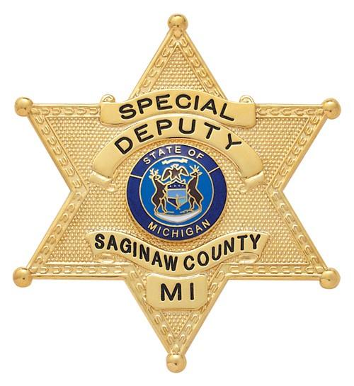 3.375 inch 6 Point Star Smith & Warren Badge S241