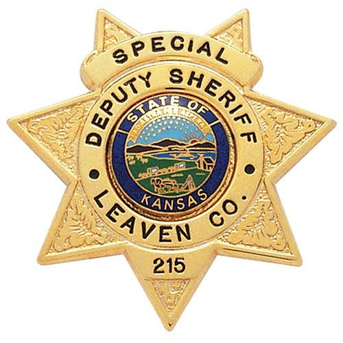 2 inch 7 Point Star Smith & Warren Badge S264