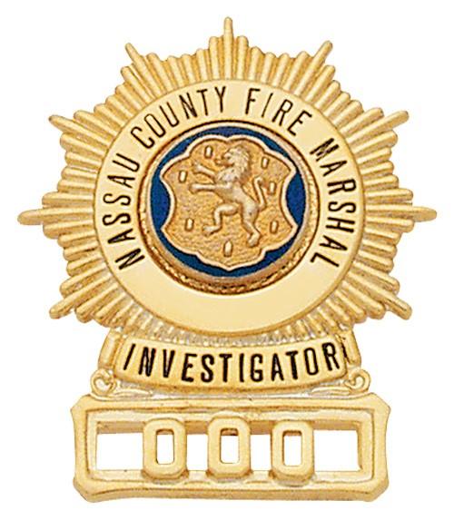 1.5 inch Sunburst Smith & Warren Badge S293