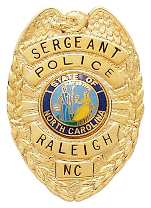 1.52 inch Eagle Top/Shield Smith & Warren Badge S295
