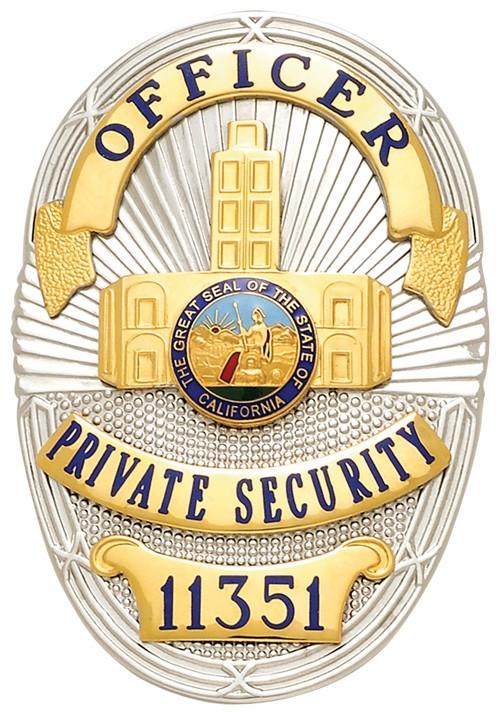 3.5 inch Oval Smith & Warren Badge S36D