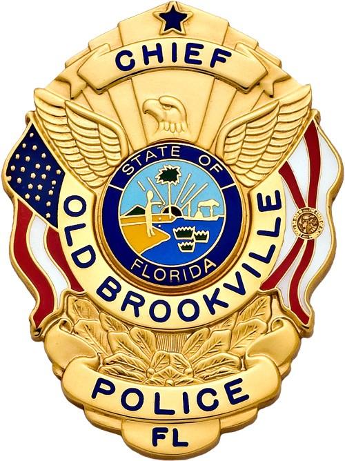 3 inch Eagle Top Smith & Warren Florida Police Badge S503FL