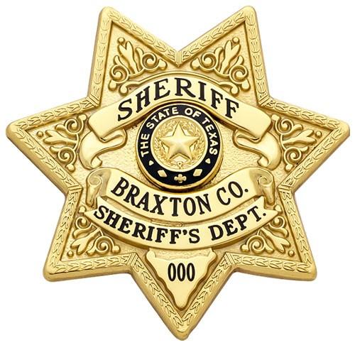 2 inch 7 Point Star Smith & Warren Badge S633