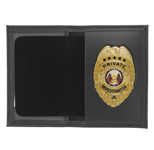 Dress Leather Book Style ID & Badge Case