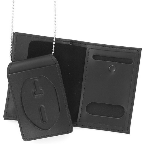 4 in 1 Dress Leather ID & Badge Case WAC049 (alternate view)