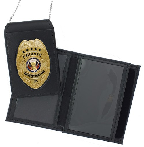 4 in 1 Dress Leather ID & Badge Case WAC049