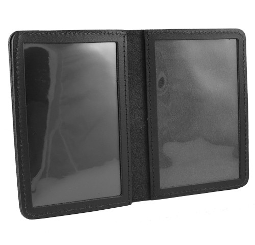 Double Window ID Case w/External Cutout (inside view)