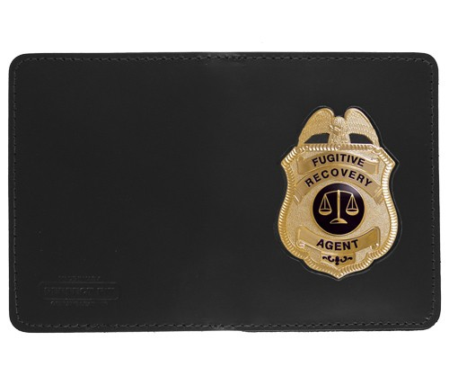 Double Window ID Case w/External Cutout with Metro Shield Cutout