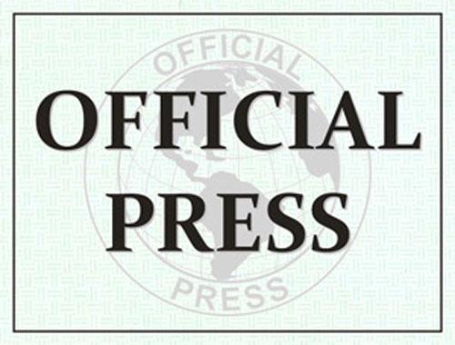 Official Press Windshield Pass