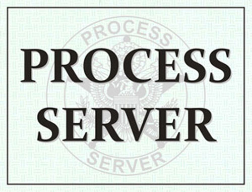 Process Server Windshield Pass