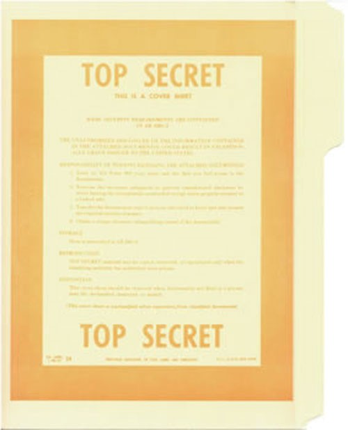 Top Secret No.2 File Folder 5-Pack