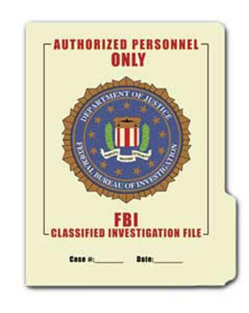 FBI File Folder 5-Pack