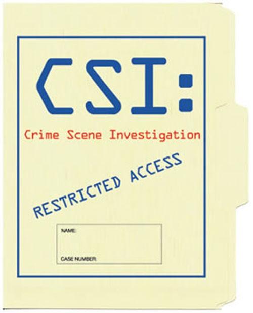 CSI File Folder 5-Pack