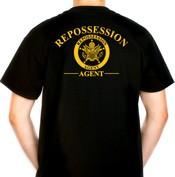 Repossession Agent T-Shirt (Gold)