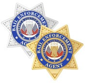 7 Point Bail Enforcement Agent Badge