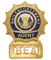 Sunburst Bail Enforcement Agent Badge