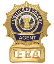 Sunburst Fugitive Recovery Agent Badge