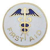 Caduceus First Aid Center Seal