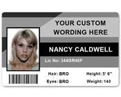 Corporate PVC ID Style #1