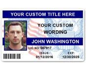 Corporate PVC ID Style #7