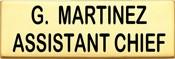 3 in. Smith & Warren Nameplate C717_2