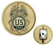 DEA FAST Team Challenge Coin