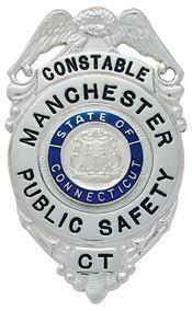 2.96 inch Eagle Top Smith & Warren Badge E199