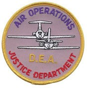 DEA Air Operations Patch