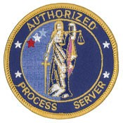 Authorized Process Servers Patch