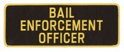 Large Bail Enforcement Patch