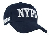 NYPD Navy Embroidered Hat