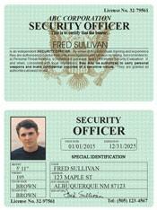 Security Officer Classic Folio
