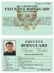Executive Bodyguard Classic Folio