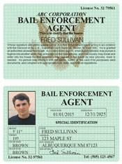 Bail Enforcement Agent Classic Folio