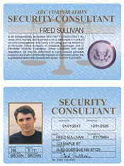 Security Consultant Standard Folio