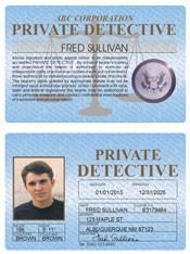 Private Detective Standard Folio