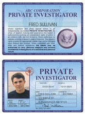 Private Investigator Deluxe Folio