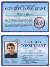 Security Consultant Deluxe Folio