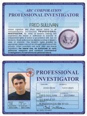 Professional Investigator Deluxe Folio