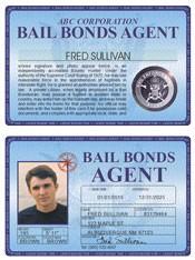 Bail Bonds Agent Deluxe Folio