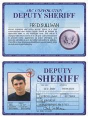 Deputy Sheriff Deluxe Folio