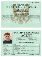 Fugitive Recovery Agent Classic Folio