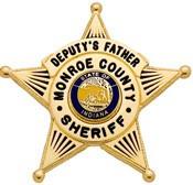 1 3/4 in. 5-Point Star Smith & Warren Family Badge FB07