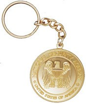 NSA Coin Key Chain
