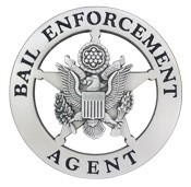 Bail Enforcement Star Badge (Silver)