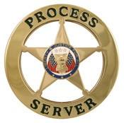 Marshal Style Process Server Badge